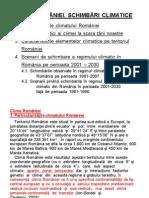Curs 13 Clima Romaniei. Schimbari Climatice 2013