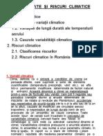 Curs 14 Variabilitate Si Riscuri Climatice 2013