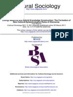 Cultural Sociology 2011 Keshet 501 18