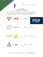 Adding Worksheet Sports