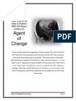 Agent of Change Meeting Plans