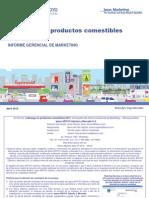 IGM Liderazgo en Productos Comestibles 2012