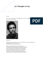 Huey Newton Gay Rights and Black Panthers