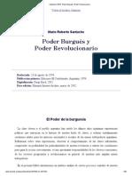 Santucho (1974)_ Poder Burgués y Poder Revolucionario