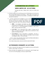 LA CURANDERA DE ATENAS. guía de lectura