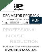 Decimtor ProrackG Mod Manual