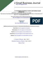 International Small Business Journal 2011 Baillien 610 25