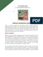 GLORY & SIGNIFICANCE OF RAKSHA BANDHAN (RAAKHI)
