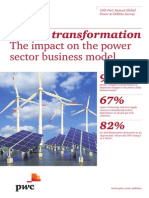 Pwc 13th Annual Global Power Utilities Survey