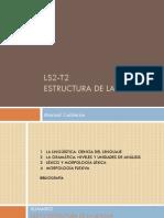 LS2-T2 Estructura de la lengua PRESENTACIÓN.pdf