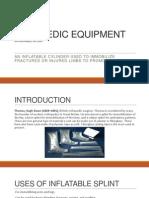 Paramedic Equipment