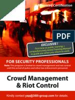 Crowd Management & Riot Control