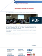 First meat technology seminar in Colombia