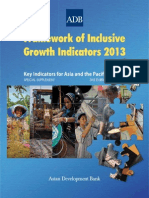 Framework of Inclusive Growth Indicators 2013