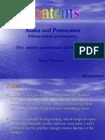 Asana Pranayama
