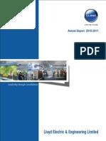 Lloyd Annual Report 2010-2011