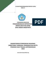 Buku 4 Pedoman PKB Dan Angka Kreditnya