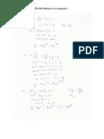 UTT MATH 1001 Tutorial 3 Solutions SeptDec