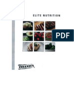 Insanity Nutrition Guide