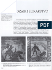 2. Rimska civilizacija (3. Mozaik i slikarstvo i Umjetnički