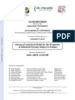 Advanced Analytical Model for the Prognostic of Industrial Systems Subject to Fatigue