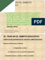EL TDAH EN EL ÁMBITO EDUCATIVO
