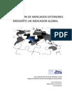 Preselección de Mercados Exteriores mediante un Indicador Global