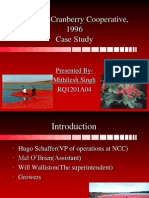 National Cranberry Cooperations 1996