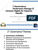 IT governance Weill and Ross