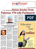 Times Chennai, E Paper 29 July 2009