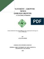 EMPLOYMENT – GROWTH