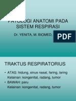 Kul Blok 3.3 2012patologi Anatomi Pada Sistem Respirasi