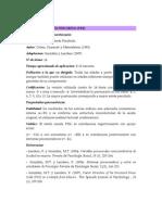 ESCALA DE ESTRÉS PERCIBIDO12345