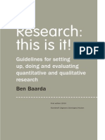 Baarda - Research This is It
