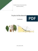 Noções de Bioclimatologia