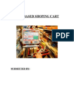 Shoping Cart System