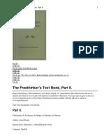 A Besant - The Freethinker
