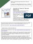 web-based virtual tour in tourism marketing