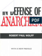 Wolff Robert in Defense of Anarchism
