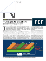 Tuning in to Graphene