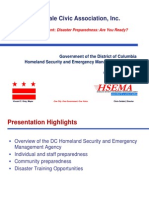 Bloomingdale Civic Association HSEMA Presentation 2013 10 21