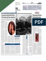 4.10.2013, 'in Mostra a Imola Le Incisioni e Gli Acquerelli Di Castellani', Libero Quotidiano