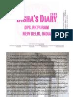 Disha's Diary