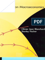 Olivier Jean Blanchard, Stanley Fischer Lectures on Macroeconomics 1989