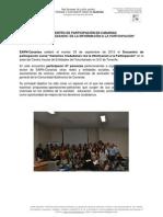 Conclusiones_Encuentro de Participación Social en Canarias 03Sept13