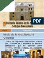 Diapositivas Fachada de La Merced