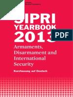 SIPRI Yearbook 2013, Kurzfassung auf Deutsch