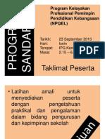 1.0 Program Sandaran PESERTA (44 Slides)