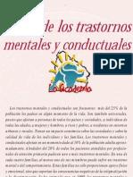 Trastornos mentales y conductuales