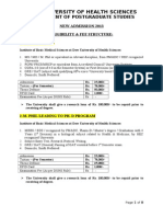0-Eligibility &Fee Structure of Master Programs - 2013-20130807